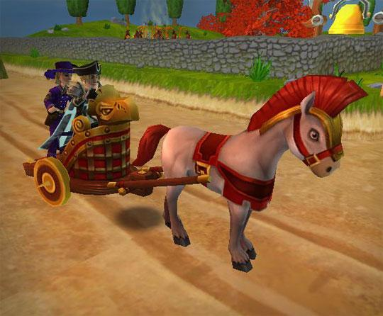 Chariot in Wizard 101