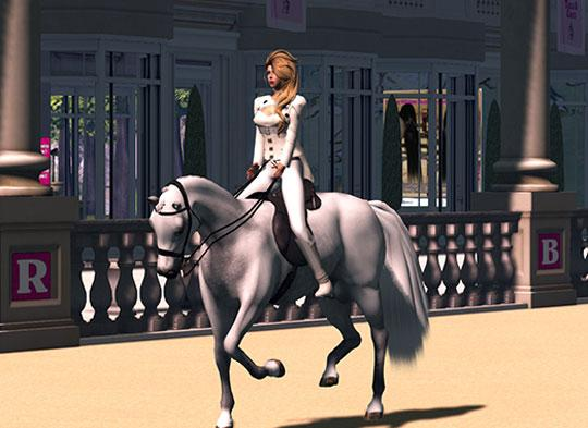 Ride like Royalty in Second Life