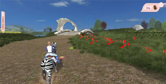 Ride A Zebra in Planet Horse