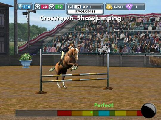 Crosstown Showjumping in My Horse