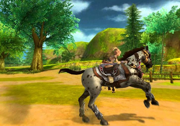 Have Fun With Your Beautiful Horse in Alicia Online