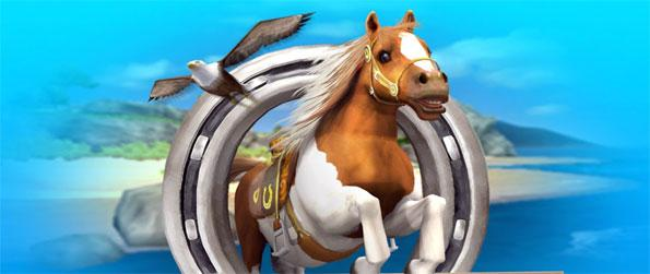 Pony Trails - Own a pony and take it for strolls through the most beautiful tracks in Pony Trails.