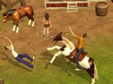 Horses and people going crazy in Horse Simulator
