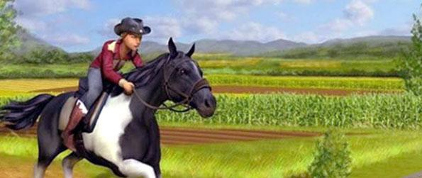 Farm Horse Jungle Ride - Ride the best variety of horses on beautiful tracks in Farm House Jungle Ride.