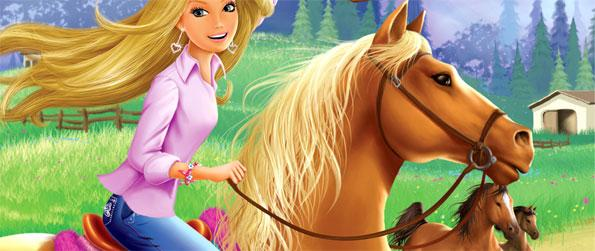 Barbie Horse Adventures: Riding Camp - Take the role of Barbie at Riding Camp and go on an exciting adventure in Barbie Horse Adventures: Riding Camp!