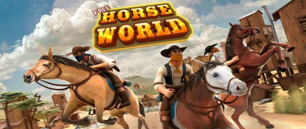 Horse Fantasy World - Be the most wanted robber in the wild, wild west in Horse Fantasy World and run away from the authorities.