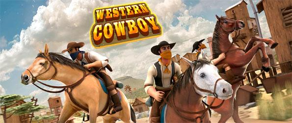 Western Cowboy - Horse Racing - Enjoy this delightful horse riding game and see just how far you can go.