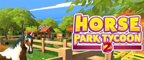 Horse Park Tycoon 2 - Enjoy this exciting horse simulation game that'll let you build and manage your own park.