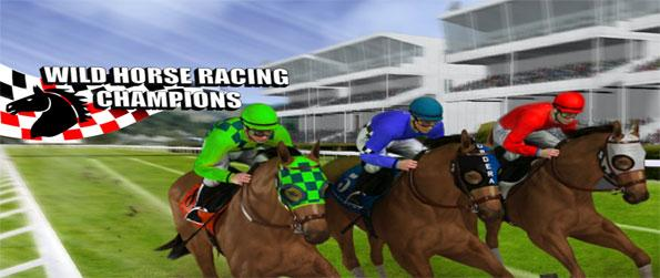Wild Horse Racing Champions: Derby Action - Play this immersive horse racing game in which you'll get to prove your skills to massive audiences.