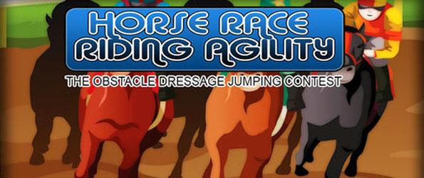 Horse Race Riding Agility - Enjoy a fun 2D horse jumping game in Horse Race Riding Agility!