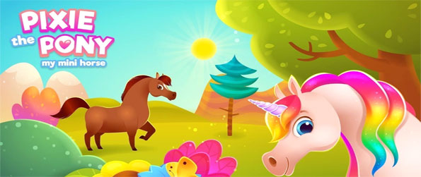 Pixie the Pony - My Mini Horse - Take care of your very own pony and make all your dreams come true in this engrossing horse care game.