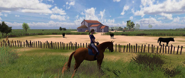 HorseStar - Have fun exploring a beautiful and vast world along with your friends in this brilliant horse-themed MMO, HorseStar!