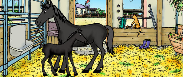 My Pony Stables - Manage your own pony stables, breed horses and have fun racing at the courses!