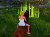 Horse Riding Deluxe: Checkpoint-based horse racing
