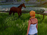 Explore an open world with your horse in Horse Riding Deluxe