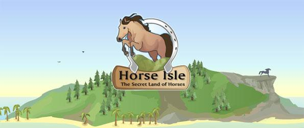 Horse Isle - Explore huge islands and find your own wild horses to tame in this free Browser Horse Game.