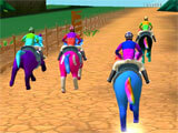 Speed Pony: Racing Game intense race
