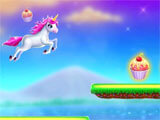 Unicorn Adventures World collecting cupcakes