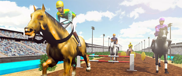 Horse Racing Champions - Play this delightful horse themed runner game that you can enjoy in the comfort of your mobile phone.