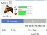 Off and Pacing: Horse Racing gameplay