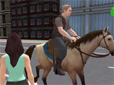 Offroad Horse Taxi Driver gameplay