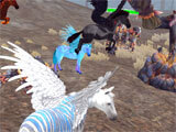 Clan of Pegasus – Flying Horse ready for battle
