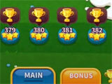 Level selection in Solitaire Derby