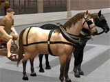Horse Taxi City Transport gameplay
