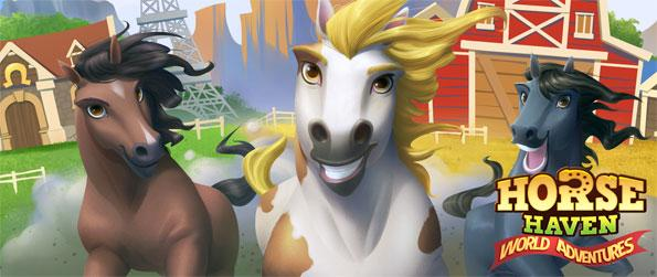 Horse Haven: World Adventures - Establish your own horse ranches in countries like the USA, Germany and France in this brilliant horse game developed and published by Ubisoft, Horse Haven: World Adventures!