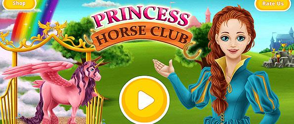 Princess Horse Club - Enjoy a wide range of activities to do within the game as you get to take care of horses in Princess Horse Club.