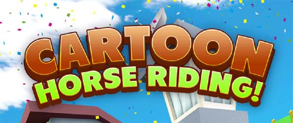 Cartoon Horse Riding - Outpace the people chasing you in this unique horse game that's sure to impress.