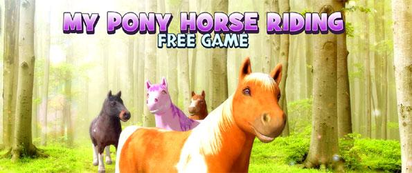 My Pony Horse Riding - Race through the beautiful countryside in this fun filled horse game that's quite addictive.
