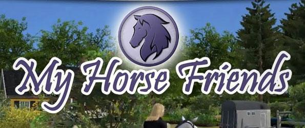 My Horse Friends - Create your own horses and your avatar and train your beloved horse in realistic environments. Compete in different challenges and perform many tasks in this exciting horse simulation game.