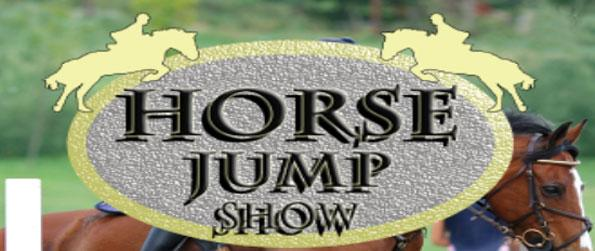 Horse Jump Show - Get ready for an exciting obstacle race with your horse.