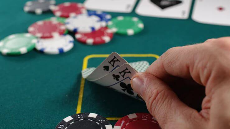 Poker and other card and board games are easy to learn