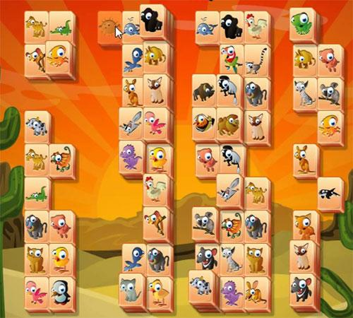 Cute Tiles in Mahjong Trails