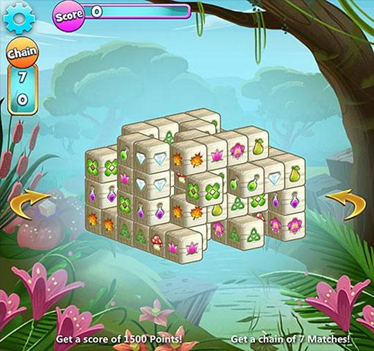 Stunning 3D Action in Mahjongg Dimensions Unblocked