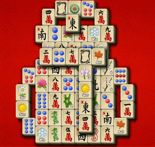 Snowman in Mahjong The Secret Garden