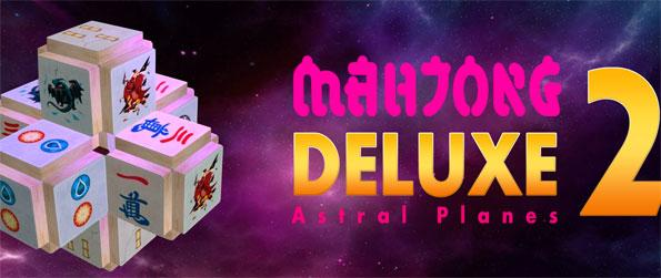 Mahjong Deluxe 2: Astral Planes - Enjoy solving over 84 different 3D puzzle layouts in this challenging mahjong game, Mahjong Deluxe 2: Astral Planes!