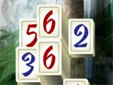 Mahjong Masters: Temple of the Ten Gods Numbered Tiles