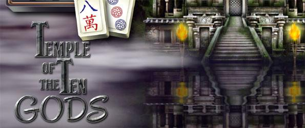 Mahjong Masters: Temple of the Ten Gods - Rebuild the temple by collecting materials through Mahjong puzzles.