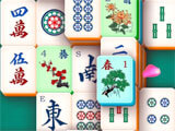 Arkadium's Mahjong Solitaire matching tiles