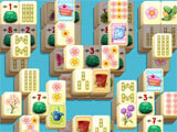 Mahjong Spring Flower Garden fun level