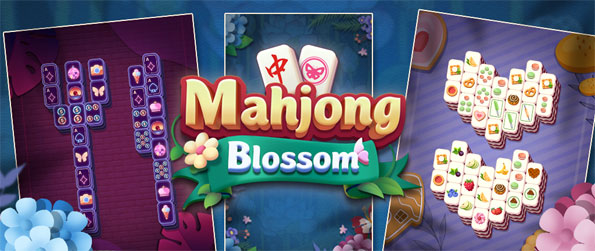 Mahjong Blossom - Enjoy this highly entertaining mahjong game that you can play in the comfort of your phone.