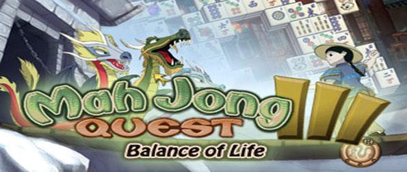 Mah Jong Quest III: Balance of Life - Enter an epic adventure where you are searching for the meaning of life.