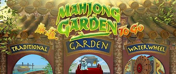 Mahjong Garden To Go - Enjoy three varieties of Mahjong game with unique elements featured over the lot of levels to beat in this single title.