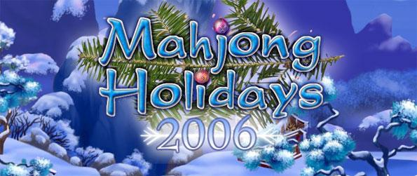 Mahjong Holidays 2006 - Find the twin of all the Mahjong tiles in the layout to finish the level.