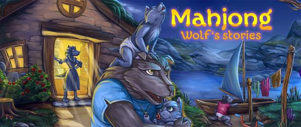 Mahjong: Wolf Stories - Aid the young wolf as he embarks on an adventure to find his family that has gone missing all of a sudden.