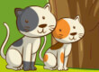 Cats Mahjong game