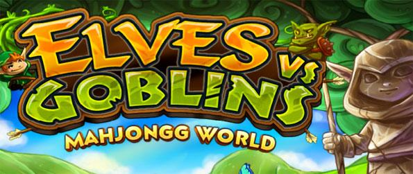 Elves vs Goblins Mahjongg World - Free places from the darkness by clearing up Mahjong levels.
